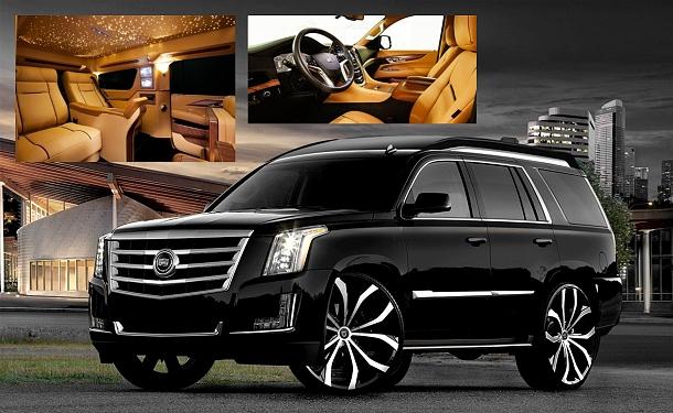Lexani Cadillac Escalade Viceroy? pouze pro nejbohatší milionáře a byznysmeny 1