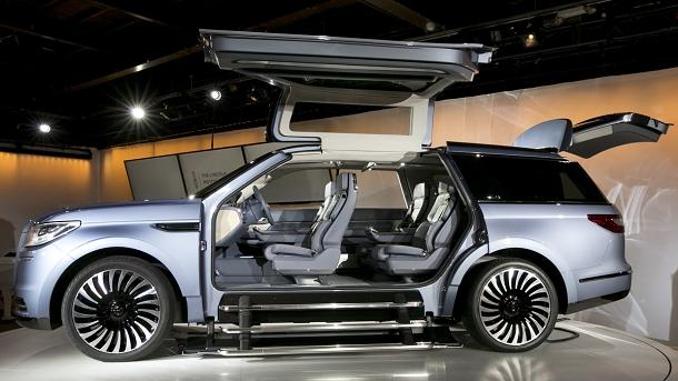 Lincoln Navigator Concept aneb jak si představují SUV v Americe 1