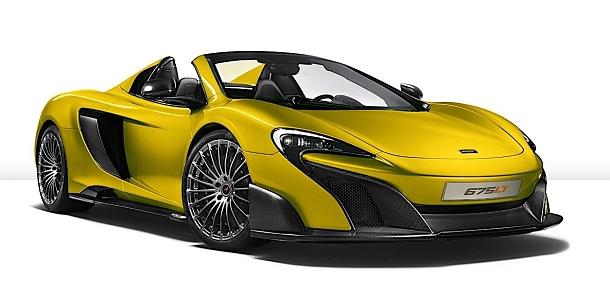 McLaren 675LT Spider: extrémně rychlý super-sport s otevřenou střechou 1