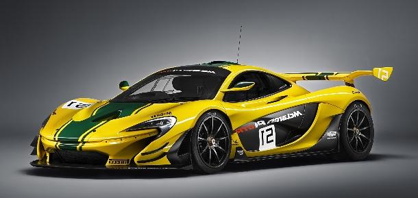 Sex na kolech - McLaren představí P1 GTR s výkonem 996 koní 1