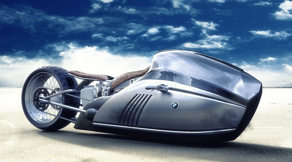 Titan: nový motocykl od BMW by vzbudil závist i u Batmana! 1