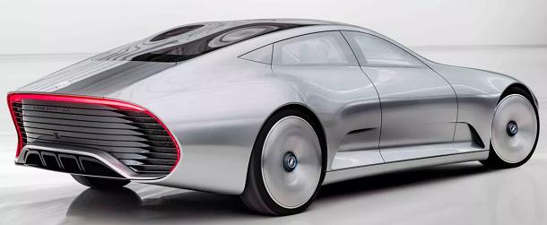 Dvě auta v jednom: Mercedes-Benz Concept IAA 1