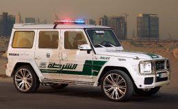 Milovníci vysoké rychlosti vyhněte se městu Dubaj! Před místní policií nikdo neuteče 29