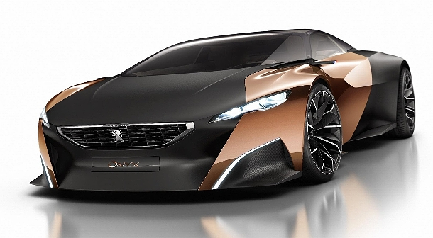 """Peugeot Onyx - Automobil, který """"opět"""" posouvá hranice nemožného 1"""