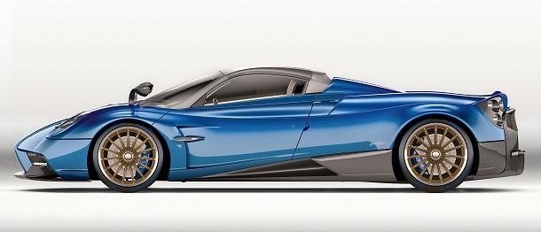 Pagani Huayra Roadster - nový italský Hyper-sport za 2,4 miliónů dolarů 1