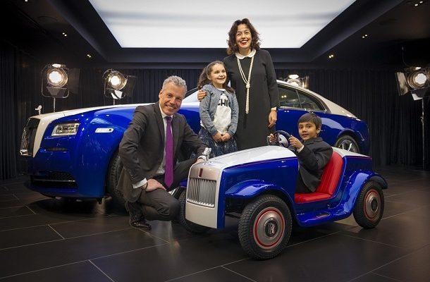 The Rolls-Royce SRH: stylové mini autíčko vyrobené speciálně pro dětské pacienty 1