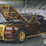 Mansory si trouflo na krále cest Rolls-Royce Ghost a vytvořilo monolitickou edici 7