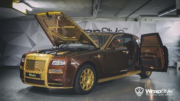 Mansory si trouflo na krále cest Rolls-Royce Ghost a vytvořilo monolitickou edici 1