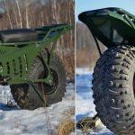 Taurus 2X2: terenní rozkládací motocykl, který zatoužíte mít doma i vy