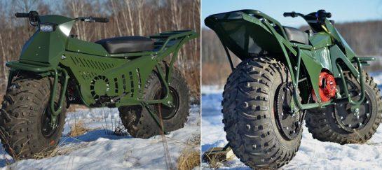 Taurus 2X2: terenní rozkládací motocykl, který zatoužíte mít doma i vy 1