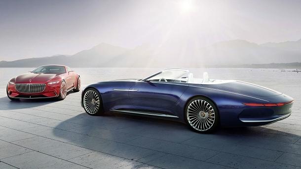 Vision Mercedes Maybach 6: Ultra luxusní Coupé, které vás dostane! 1