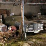 Na hradě ve Švýcarsku našli v garáži 12 vzácných historických aut 4