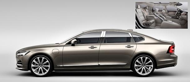 Volvo S90 Excellence: výjimečný sedan pronejnáročnější 1