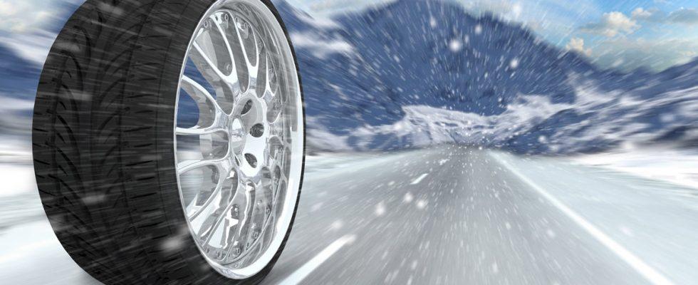 Rizika ježdění na zimních pneumatikách v létě 1