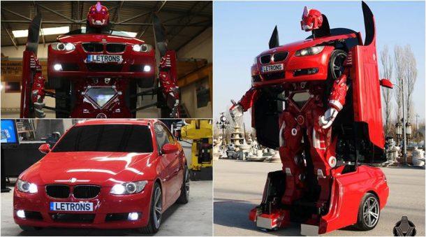 Chlapecký sen se stal realitou: Turci sestrojili skutečného transformera! 1