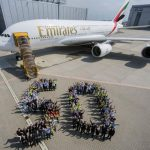 Video: Areolinky Emirates oslavují výrobu 50-tého Airbusu A380. Nahlédněte do zákulisí výroby 3