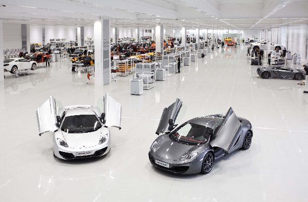 McLaren zve veřejnost na prohlídku kde se rodí sny 1