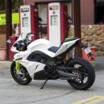 2015 Energica Supersport poháněný elektromotorem