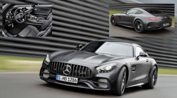 Proč ne BMW? Nebo... Mercedes představil dokonalý iteriér AMG GT Coupe 1