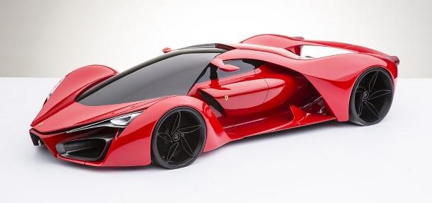 Podívejte se na nejodvážnější koncept Ferrari F80 1