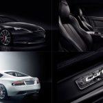 Aston Martin DB9 Carbon Black/White. Nové auto pro Bonda?