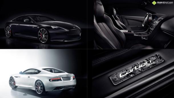 Aston Martin DB9 Carbon Black/White. Nové auto pro Bonda? 1