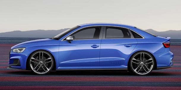 Audi A3 Clubsport Quattro Concept: mnší dravec, který uloví i to největší zvíře 1