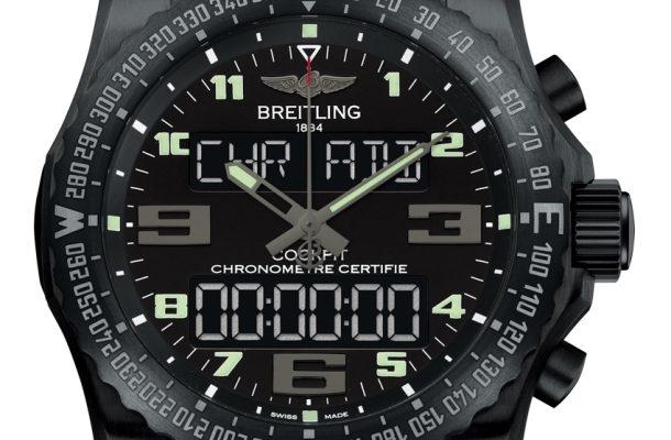 Breitling Cockpit B50: nabíjecí hodinky určené na extrémní mise 1