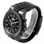 Breitling For Bentley 6.75 Midnight Carbon – černé hodinky jsou stále TOP