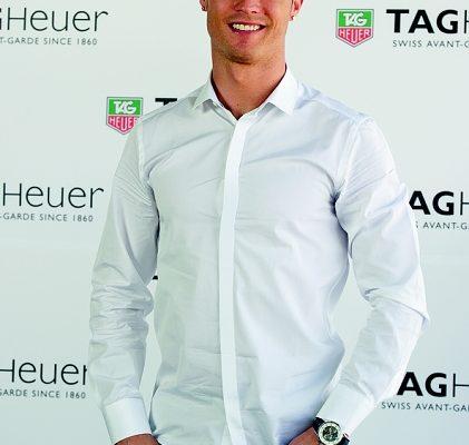 Cristiano Ronaldo udělal další životní přestup. Stal se novou tváří značky TAG Heuer 1