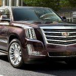 Pojízdný obývací pokoj s názvem Cadillac Escalade Platinum 2015