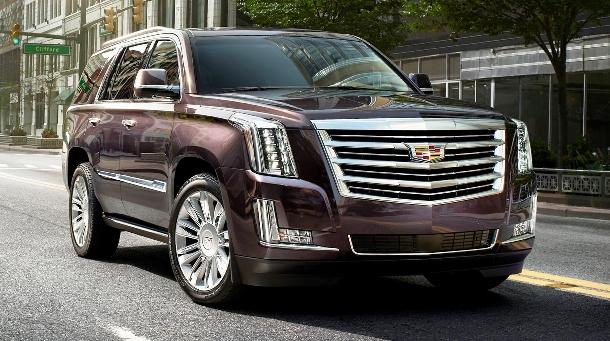 Pojízdný obývací pokoj s názvem Cadillac Escalade Platinum 2015 1