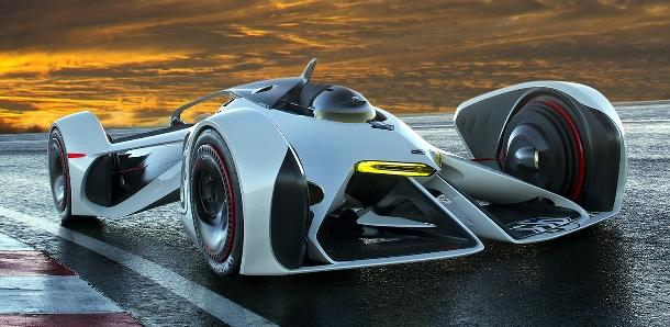 Chevrolet Chaparral 2X Vision - díváme se na Batmanovo nové vozidlo z budoucnosti? 1