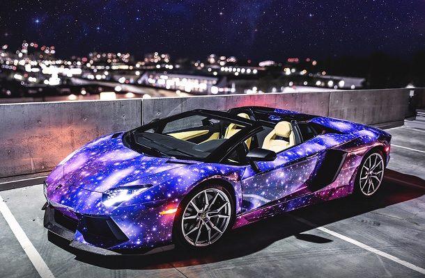 Majitel Lamborghini Aventador Roadster si podmanil celou galaxii! 1