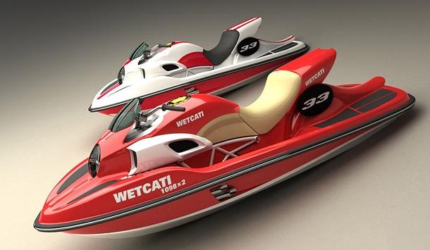 Podaří se dostat Ducati na vodní hladinu bez újmy? 1