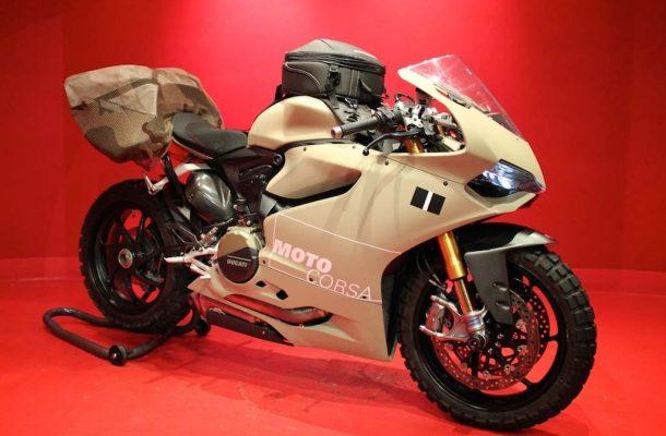 Extrémně šílená úprava nejkrásnějšího motocyklu současnsti? 1