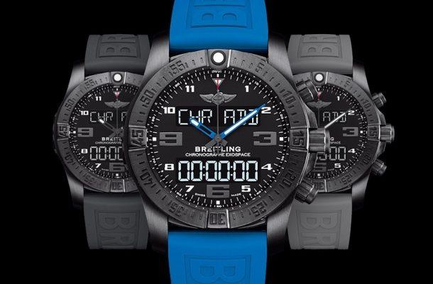 Značka Breitling už brzy odhalí model inteligentních hodinek Exospace Smartwatch 1