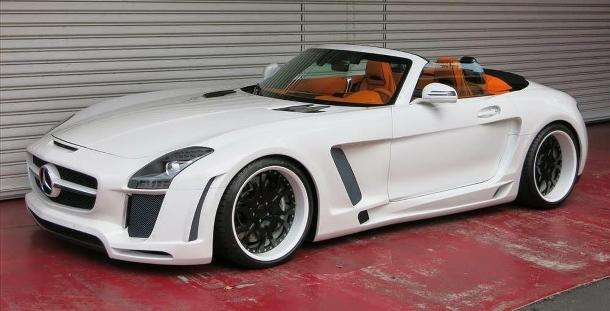 Může být Mercedes-Benz SLS AMG ještě hezčí? 1