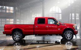 V případě potřeby použijte hrubou sílu Ford Super Duty 2015 34
