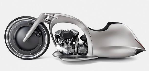 Vytvořit motocykl, kterého předlohou je úplněk měsíce? To dokáže pouze Akrapovič 1
