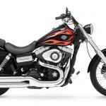 Drsná řemeslná úprava Harley-Davidson Dyna na Taiwanský způsob