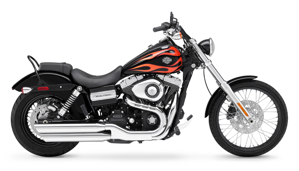 Drsná řemeslná úprava Harley-Davidson Dyna na Taiwanský způsob 1