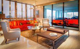 Boháči v Singapuru parkují své Ferrari přímo v obývacím pokoji 32