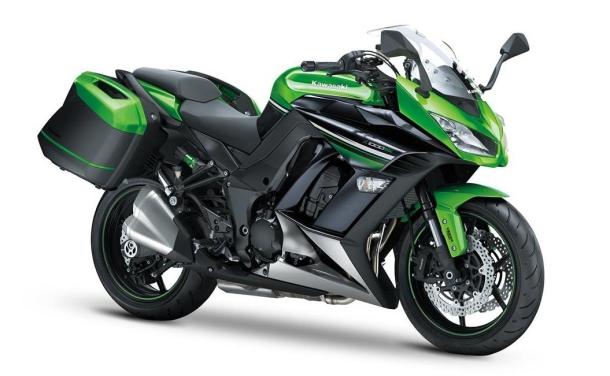 Kawasaki Z1000SX: praktický sportovec na rok 2014 1