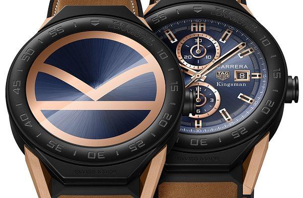 Tajného agenta organizace Kingsman s hodinkami Tag Heuer Connected 1