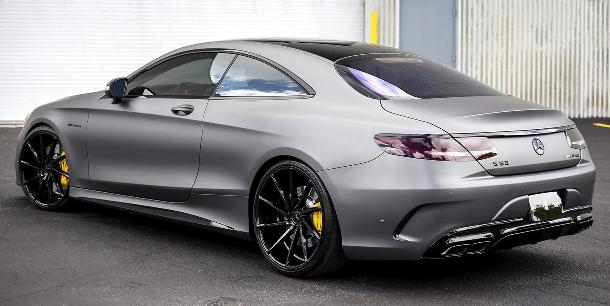 Mohla tuningová společnost IMSA na Mercedesu s63 AMG Coupe ještě něco vylepšit? 1