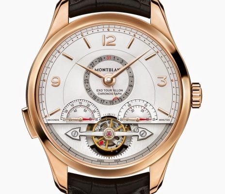 Montblanc představil nejdostupnější hodinky s Tourbillonem a chronografem na trhu 1