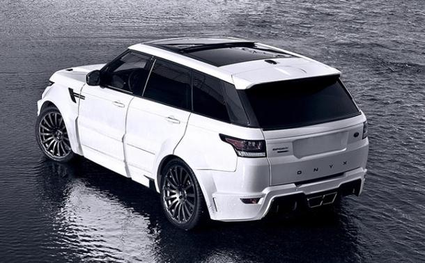 Onyx si z nejrychlejšího SUV Range Rover Sport udělal verzi San Marino 1