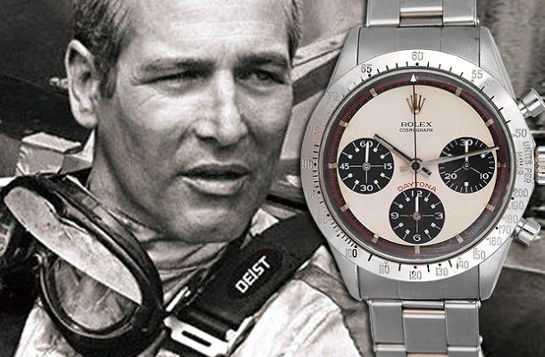 Rolex Daytona zesnulého herce Paula Newmana překonali v dražbě rekordní sumu 1