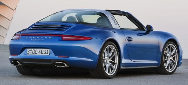 Porsche 911 Targa 4S: návrat legendy 1